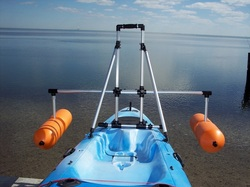 kayak stabilization bars